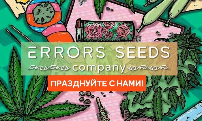 Акция ко дню рождения Errors-seeds